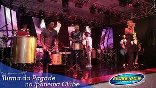 Foto Turma do Pagode no Ipanema Clube 80
