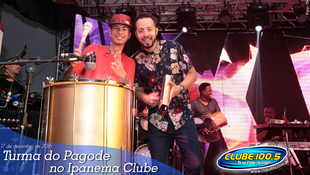 Foto Turma do Pagode no Ipanema Clube 82