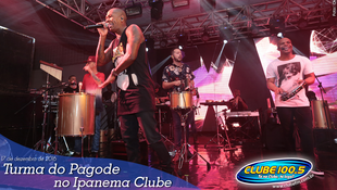 Foto Turma do Pagode no Ipanema Clube 83