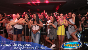Foto Turma do Pagode no Ipanema Clube 86
