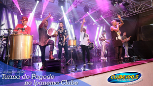 Foto Turma do Pagode no Ipanema Clube 91