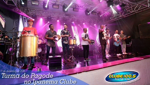 Foto Turma do Pagode no Ipanema Clube 93