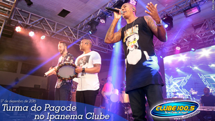 Foto Turma do Pagode no Ipanema Clube 100