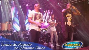Foto Turma do Pagode no Ipanema Clube 107