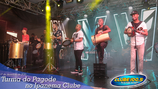Foto Turma do Pagode no Ipanema Clube 112