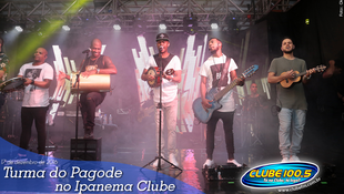 Foto Turma do Pagode no Ipanema Clube 113