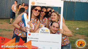 Foto Fotos da galera no #SafadãoElétrico 9