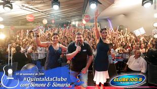 Foto Quintal da Clube com Simone & Simaria 1