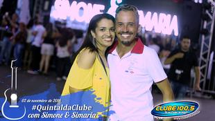 Foto Quintal da Clube com Simone & Simaria 7