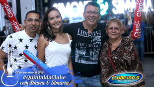 Foto Quintal da Clube com Simone & Simaria 10