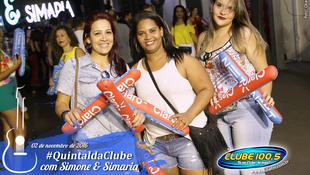 Foto Quintal da Clube com Simone & Simaria 11