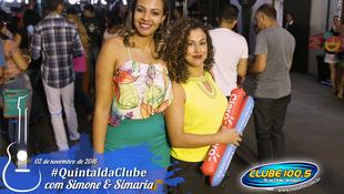Foto Quintal da Clube com Simone & Simaria 12