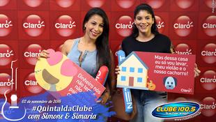 Foto Quintal da Clube com Simone & Simaria 17
