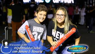 Foto Quintal da Clube com Simone & Simaria 20