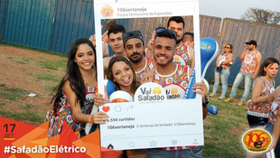 Foto Fotos da galera no #SafadãoElétrico 14