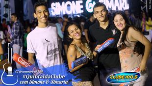 Foto Quintal da Clube com Simone & Simaria 26