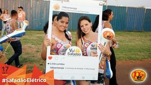 Foto Fotos da galera no #SafadãoElétrico 16