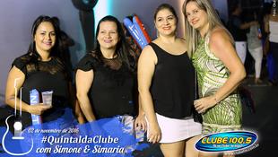 Foto Quintal da Clube com Simone & Simaria 27