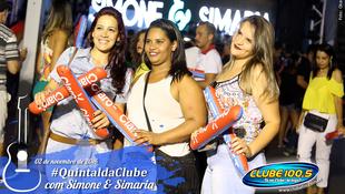 Foto Quintal da Clube com Simone & Simaria 28