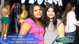 Foto Quintal da Clube com Simone & Simaria 35