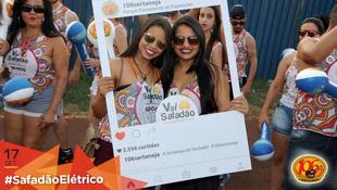 Foto Fotos da galera no #SafadãoElétrico 21