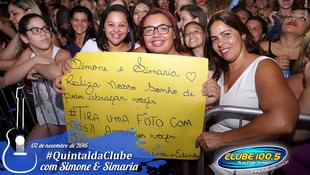 Foto Quintal da Clube com Simone & Simaria 84