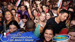 Foto Quintal da Clube com Simone & Simaria 88