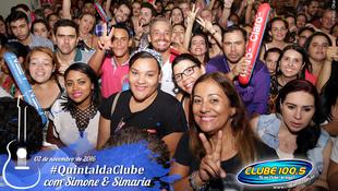 Foto Quintal da Clube com Simone & Simaria 90