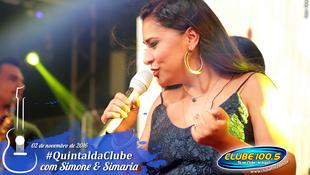 Foto Quintal da Clube com Simone & Simaria 95