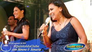 Foto Quintal da Clube com Simone & Simaria 96