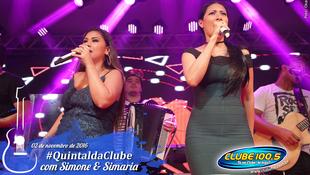 Foto Quintal da Clube com Simone & Simaria 100