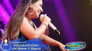 Foto Quintal da Clube com Simone & Simaria 105