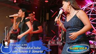Foto Quintal da Clube com Simone & Simaria 106