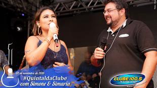 Foto Quintal da Clube com Simone & Simaria 111