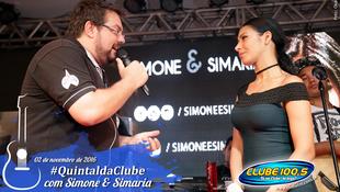 Foto Quintal da Clube com Simone & Simaria 112