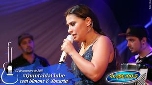 Foto Quintal da Clube com Simone & Simaria 120