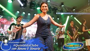 Foto Quintal da Clube com Simone & Simaria 124