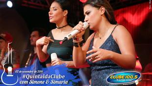 Foto Quintal da Clube com Simone & Simaria 127