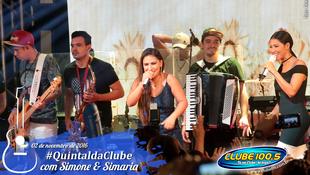 Foto Quintal da Clube com Simone & Simaria 130