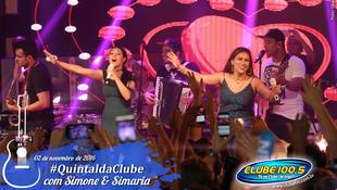 Foto Quintal da Clube com Simone & Simaria 131
