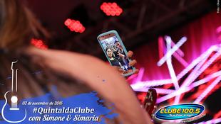Foto Quintal da Clube com Simone & Simaria 133