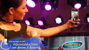 Foto Quintal da Clube com Simone & Simaria 134