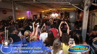 Foto Quintal da Clube com Simone & Simaria 136