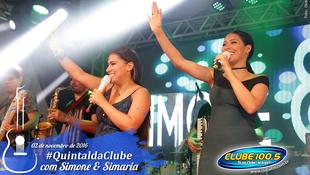 Foto Quintal da Clube com Simone & Simaria 140