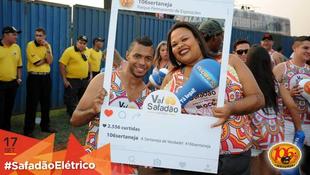 Foto Fotos da galera no #SafadãoElétrico 43