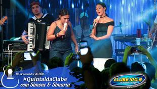 Foto Quintal da Clube com Simone & Simaria 150