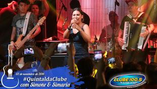 Foto Quintal da Clube com Simone & Simaria 155