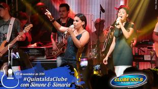Foto Quintal da Clube com Simone & Simaria 156