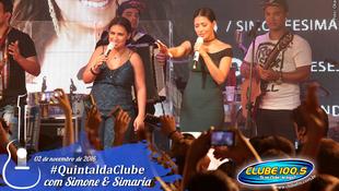 Foto Quintal da Clube com Simone & Simaria 162