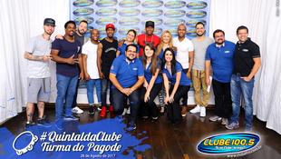 Foto Quintal da Clube com Turma do Pagode 1
